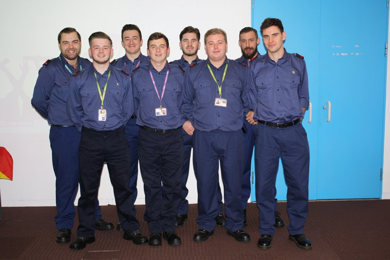 P&O Ferries Apprentices - 2016 Intake - Graduation
