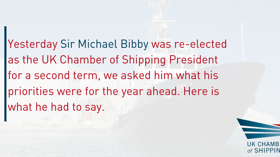 Sir Michael Bibby has been re-elected as UK Chamber President for a second one-year term.