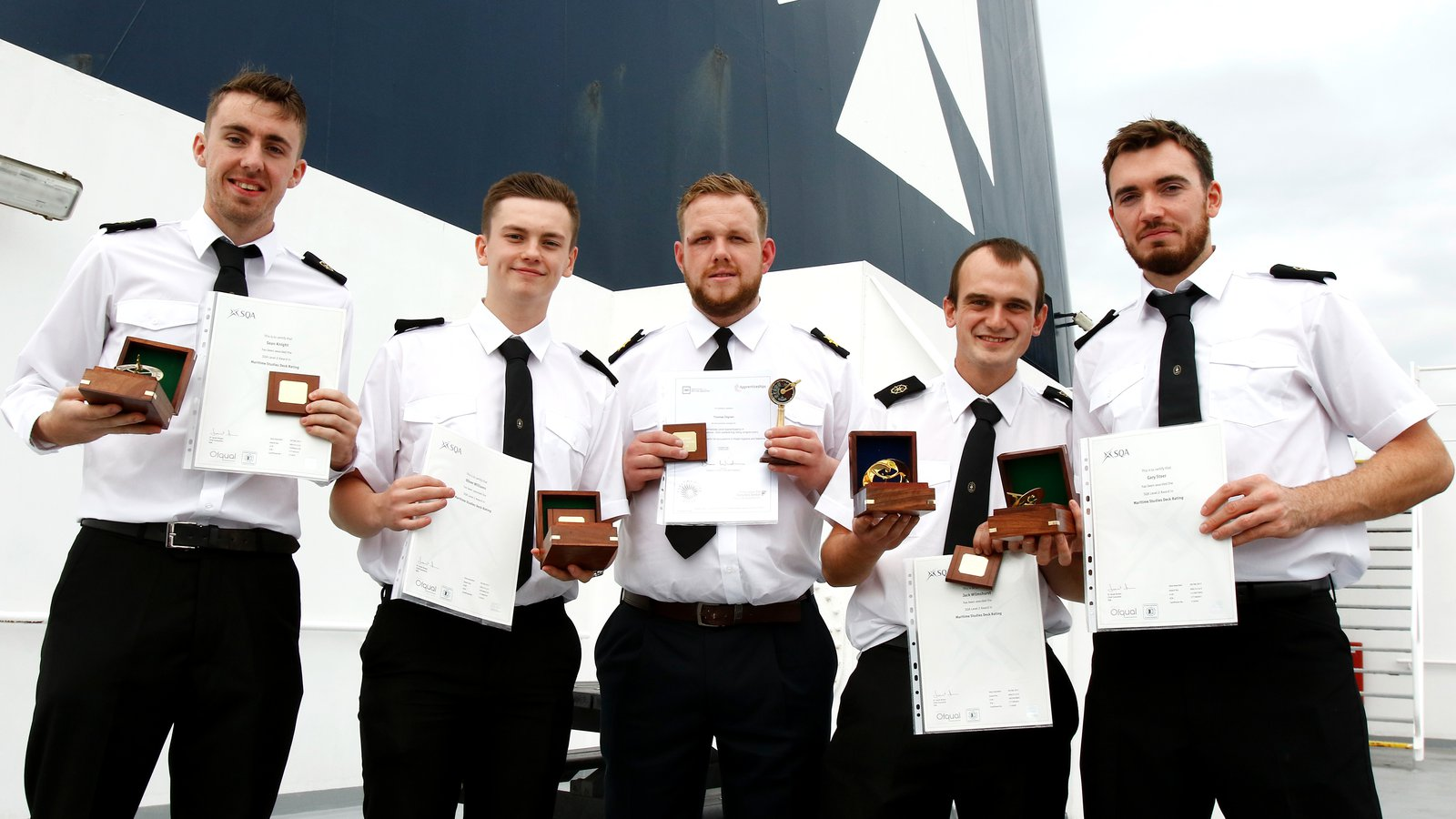 DFDS ratings apprentices 2