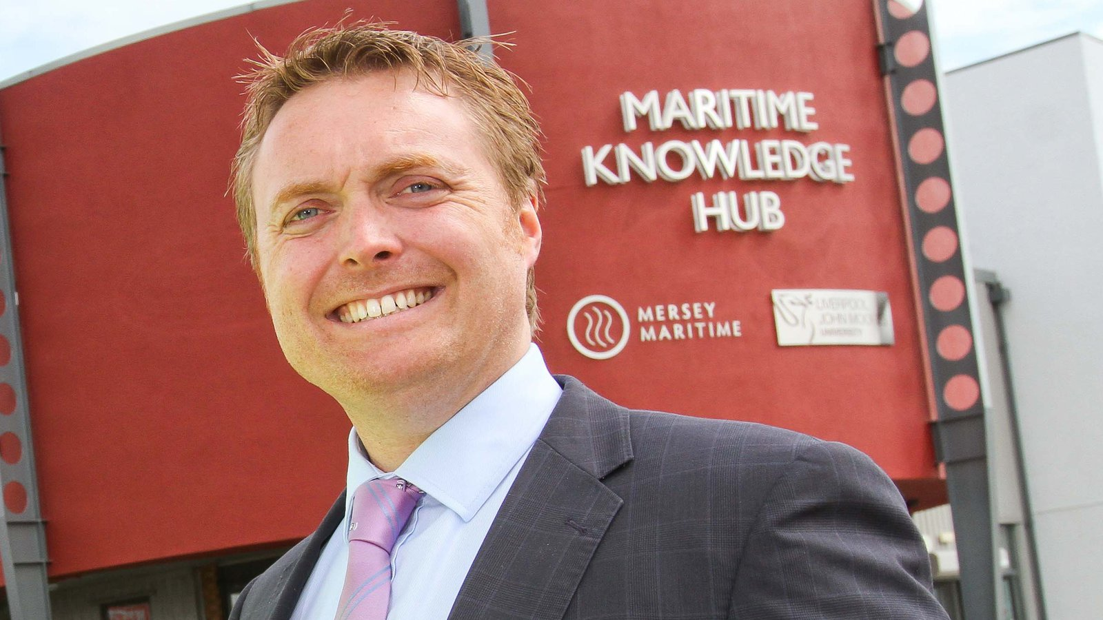 Chris Shirling-Rooke, CEO of Mersey Maritime