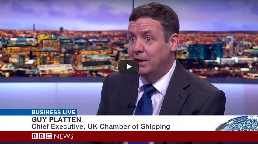 Guy Platten appears on BBC Business Live