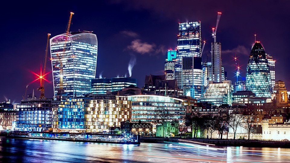 city of london night