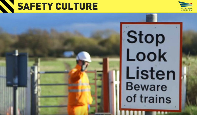 rail safety culture sign