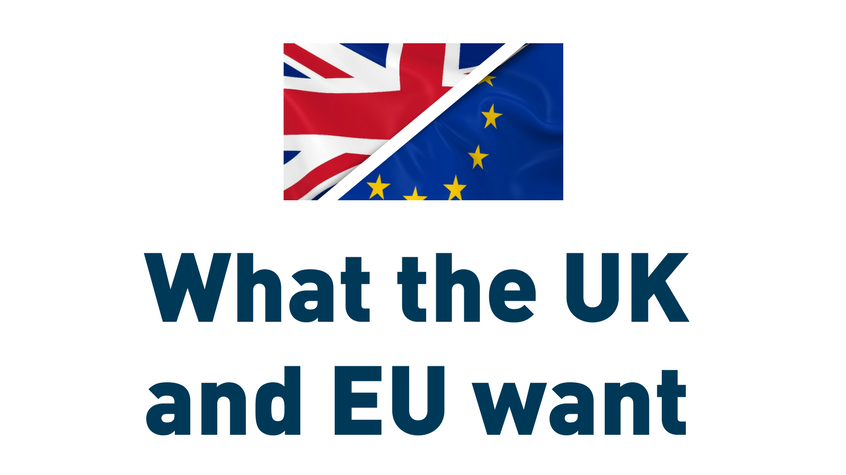 What the UK and EU want